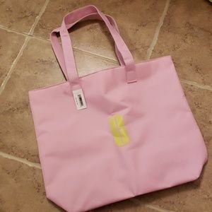 Clinique Pink Tote Bage NEW